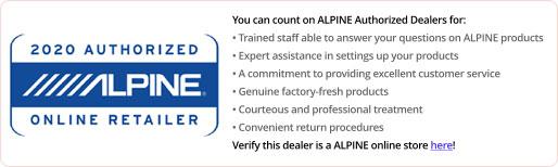Alpine - Authorized Alpine Dealer