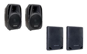 PA - DJ Speakers