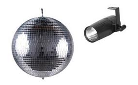 Mirror Balls Pinspots & Motors
