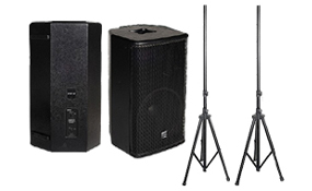 Speakers & Adjustable Stands