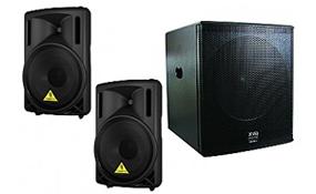 DJ Speakers & Amplifiers
