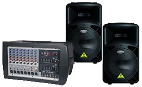 Speakers & Powered Mixers
