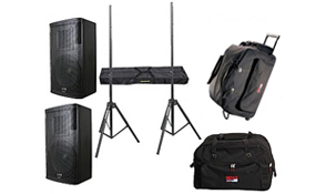 Speakers, Cases & Tripod Stands