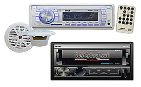 Marine In-Dash Receivers