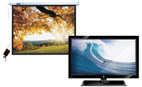 LCD Plasma TV & Projector Screens