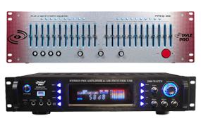 Power Amplifiers & Processors