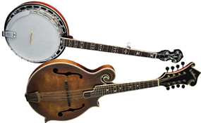 Banjo & Mandolin Guitars