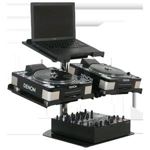 CD MP3 Player & Mixer Stands