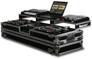 """Odyssey FZGSPDJ12W Remixer Glide Style Series DJ Coffin for a 12"""" Mixer and 2 Turntables in ..."""