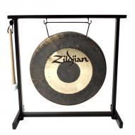 """Zildjian P0565 12"""" Traditional Gong And Stand Set Table Top"""