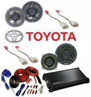 Toyota 4 Runner 1989-1995 Kicker Factory Coaxial Speaker Replacement DS400 & DS5250 Package w...
