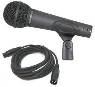 Behringer XM8500 Pro Audio Wired Cardioid Mic Microphone with 15 Foot XLR Cable Package