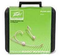 Peavey PVM-4 Premium Wireless Headset Beige Includes Hardshell Case (580920)