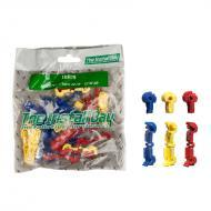 Install Bay IBR19 Polybag Retail Packed Hardware 1 Bag of 24 Pcs Assorted T-Tap 22/18 -12/10GA
