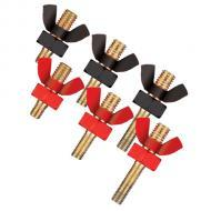 Shuriken SK-WN20 Three Pair of Positive / Negative Wing Nuts and Posts for SK-BT20 Car Battery