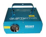 Blizzard Kaptivator Sound Active 3D RGB Laser Fixture with Animated Graphic Show Patterns