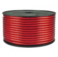 Install Bay IBPC04R-125 4 Gauge Red Value Line Power Cables 125ft. Each