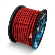 Raptor R41-0-50R Mid Series 1/0 Gauge Power Cable in Copper Clad Aluminum Construction Red 50 Feet