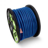 Raptor R51-0-20BL Pro Series 1/0 Gauge Power Cable in Oxygen Free Copper Construction Blue 20 Feet