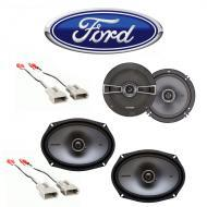 Ford F-Series Truck 1987-1991 Factory Speaker Replacement Kicker KS Package New