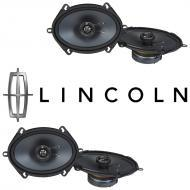 Lincoln LS 2000-2006 Factory Speaker Replacement Kicker (2) KSC68 Package New