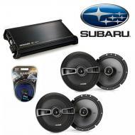 Subaru Outback 2000-2009 Factory Speaker Upgrade Kicker (2) KSC65 & DX400.4 Amp