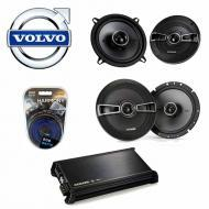 Volvo V70/Cross Country/XC70 01-04 Speaker Upgrade Kicker KS Coax & DX400.4 Amp