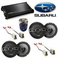 Subaru Outback 2000-2004 Factory Speaker Upgrade Kicker (2) KSC65 & DX400.4 Amp