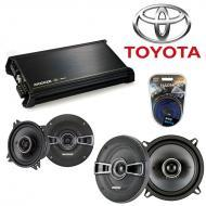 Toyota Truck / 4 Runner 89-93 OEM Speaker Upgrade Kicker KS Series & DX400.4 Amp