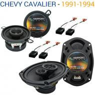 Chevy Cavalier 1991-1994 Factory Speaker Upgrade Harmony R35 R69 Package New