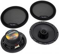 "Harmony Audio HA-65 Car Stereo Rhythm Series 6.5"" Replacement 300W Speakers & Grills"