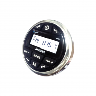 Kicker KMC2 Weather-Resistant Gauge Style Media Center w/ Bluetooth Compatibility