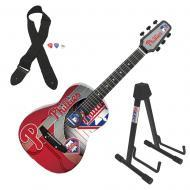 Peavey 1/2 Size Student Acoustic MLB Philadelphia Phillies Guitar & Stand New
