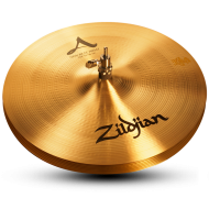 """Zildjian A0134 14"""" A Series New Beat Hi Hat Top Cast Bronze Cymbal with Solid Chick Sound"""