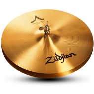 """Zildjian A0137 15"""" A Series New Beat Hi Hat Top Cast Bronze Cymbal with Solid Chick Sound"""