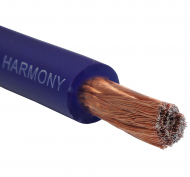 Harmony Audio 1/0 0 Gauge Car Stereo Matte Blue Power Cable Amp Wire - 45 FT