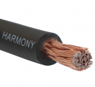 Harmony Audio 1/0 0 Gauge Car Stereo Matte Black Power Cable Amp Wire - 5 FT