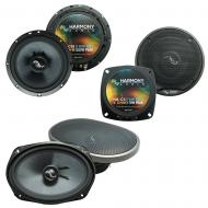Fits Infiniti G35 (coupe) 2003-2007 OEM Premium Speaker Replacement Harmony Upgrade Kit