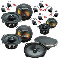 Fits Chrysler LeBaron 1984-1995 Factory Speaker Upgrade Harmony Premium Speakers Package
