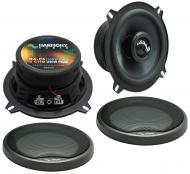 "Harmony Audio HA-C5 Car Stereo Carbon 5.25"" Replacement 250W Speakers & Grills"