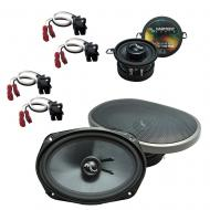 Fits Oldsmobile Cutlass Ciera 1990-1994 Factory Speaker Upgrade Harmony Premium Speakers