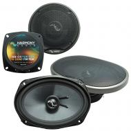 Fits Infiniti M30 1990-1992 Factory Premium Speaker Replacement Harmony C4 C69 Package