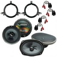 Fits Chrysler Cirrus 1995-2000 OEM Premium Speaker Upgrade Harmony C65 C69 Package New