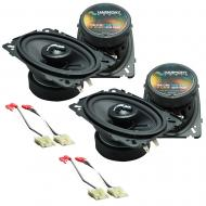 Fits Chevy CK Truck (Full Size) 1988-1994 Factory Premium Speaker Upgrade Harmony (2)C46