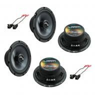 Fits GMC Canyon 2004-2012 Factory Premium Speaker Replacement Harmony (2) C65 Package