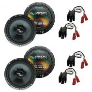 Fits Jeep Cherokee 1997-2001 Factory Premium Speaker Replacement Harmony (2) C65 Package