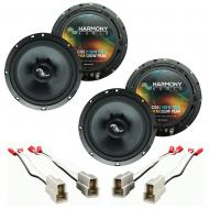 Fits Nissan 300ZX 1984-1989 Factory Premium Speaker Replacement Harmony (2) C65 Package