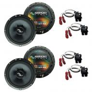 Fits Saturn L Series 2000-2005 Factory Premium Speaker Upgrade Harmony (2) C65 Package
