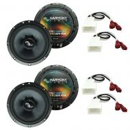 Fits Scion tC 2005 - 2010 Factory Premium Speaker Replacement Harmony (2) C65 Package