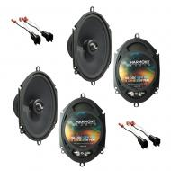 Fits Ford Edge 2007-2010 Factory Premium Speaker Replacement Harmony (2) C68 Package New